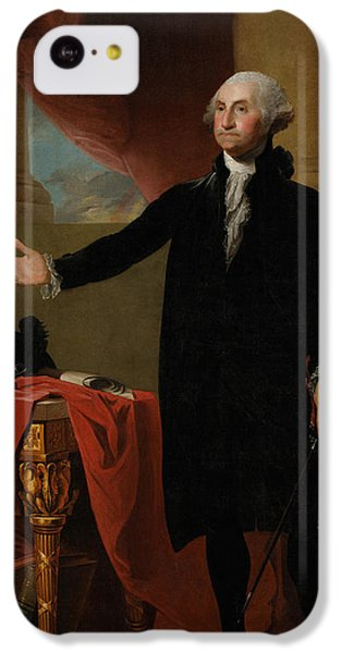 Portraits iPhone 5c Case - George Washington Lansdowne Portrait by War Is Hell Store