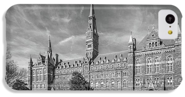 Georgetown University Healy Hall IPhone 5c Case by University Icons