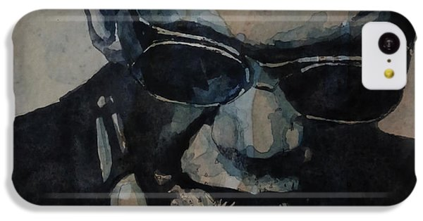 Rock And Roll iPhone 5c Case - Georgia On My Mind - Ray Charles  by Paul Lovering