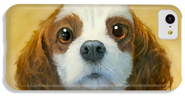 Dog iPhone 5c Case - More Than Words by Sean ODaniels
