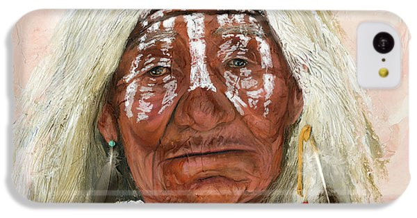 Landmarks iPhone 5c Case - Ghost Shaman by J W Baker