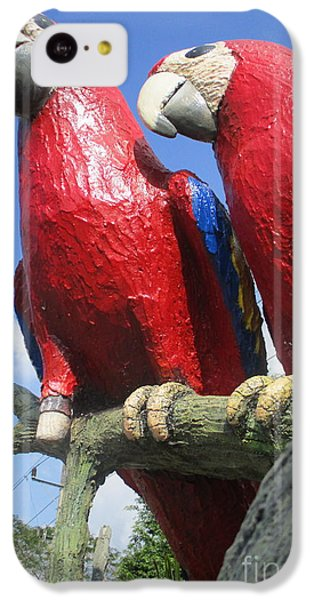 Giant Macaws IPhone 5c Case by Randall Weidner