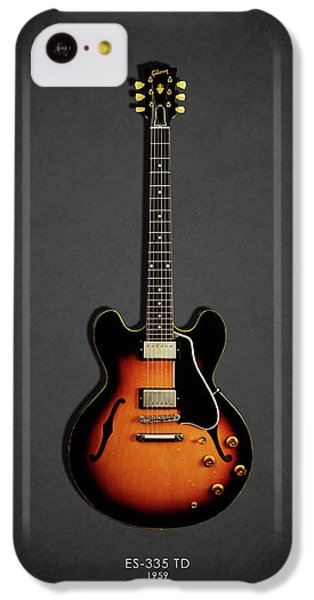 Jazz iPhone 5c Case - Gibson Es 335 1959 by Mark Rogan