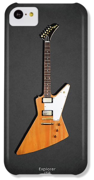 Guitar iPhone 5c Case - Gibson Explorer 1958 by Mark Rogan