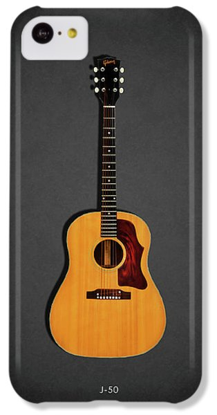 Guitar iPhone 5c Case - Gibson J-50 1967 by Mark Rogan