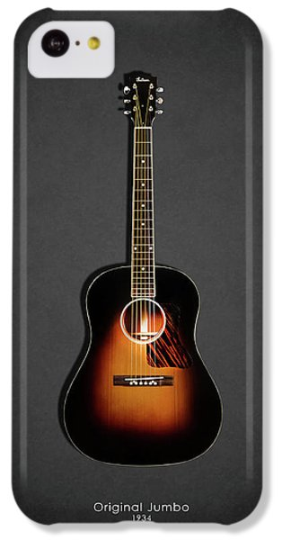 Guitar iPhone 5c Case - Gibson Original Jumbo 1934 by Mark Rogan