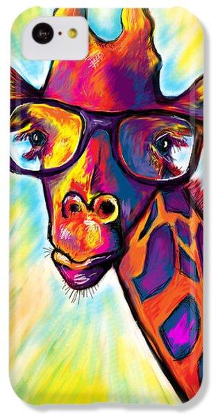 Giraffe IPhone 5c Case by Julianne Black