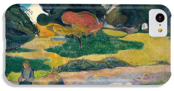Girl Herding Pigs IPhone 5c Case by Paul Gauguin