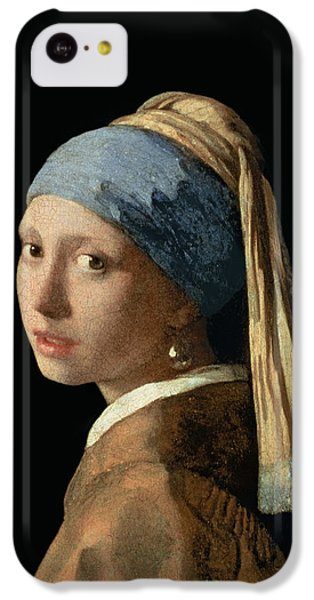 Portraits iPhone 5c Case - Girl With A Pearl Earring by Jan Vermeer
