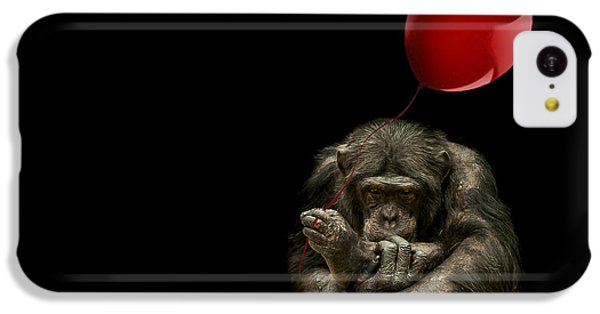 Girl With Red Balloon IPhone 5c Case by Paul Neville