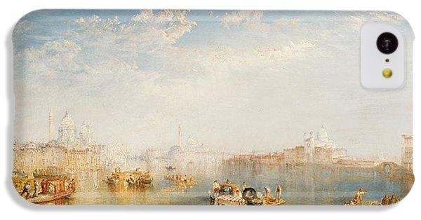 Boat iPhone 5c Case - Giudecca La Donna Della Salute And San Giorgio  by Joseph Mallord William Turner