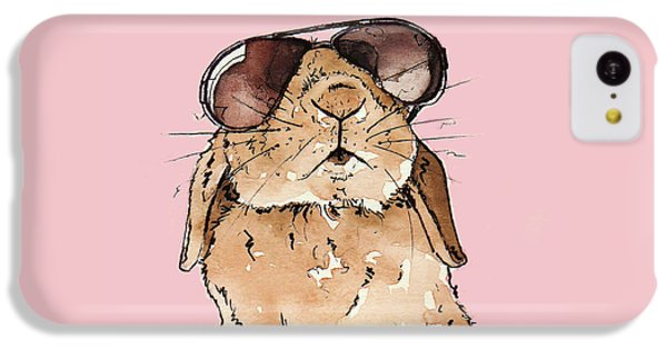 Glamorous Rabbit IPhone 5c Case by Katrina Davis