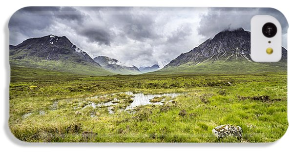 IPhone 5c Case featuring the photograph Glencoe by Jeremy Lavender Photography