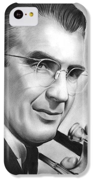Trombone iPhone 5c Case - Glenn Miller by Greg Joens