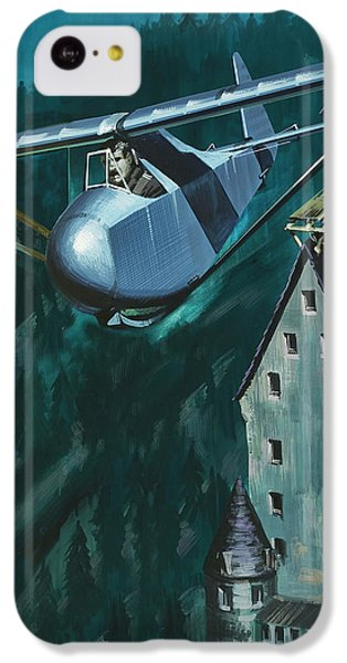 Glider Escape From Colditz Castle IPhone 5c Case by Wilf Hardy