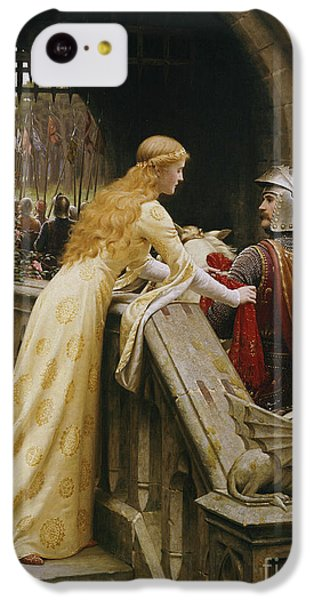Valentines Day iPhone 5c Case - God Speed by Edmund Blair Leighton