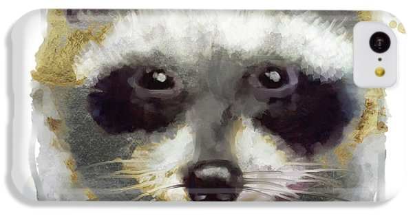 Golden Forest Raccoon  IPhone 5c Case