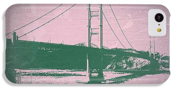 Golden Gate Bridge IPhone 5c Case by Naxart Studio