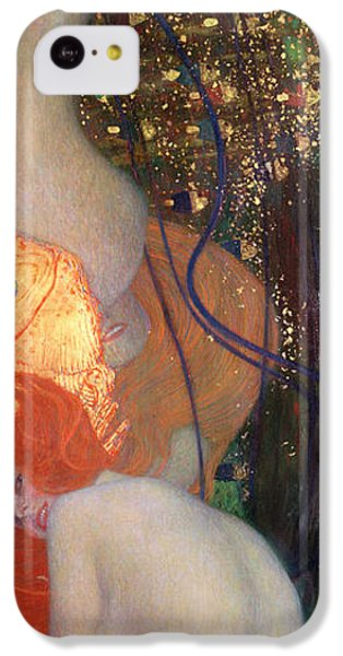 Goldfish IPhone 5c Case by Gustav Klimt