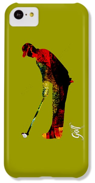 Golf Collection IPhone 5c Case by Marvin Blaine