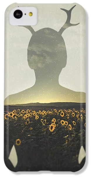 Sunflower iPhone 5c Case - Goodbye Summer by Art of Invi