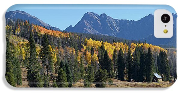 IPhone 5c Case featuring the photograph Gore Autumn by Aaron Spong