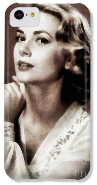 Grace Kelly iPhone 5c Case - Grace Kelly, Actress, By Js by John Springfield
