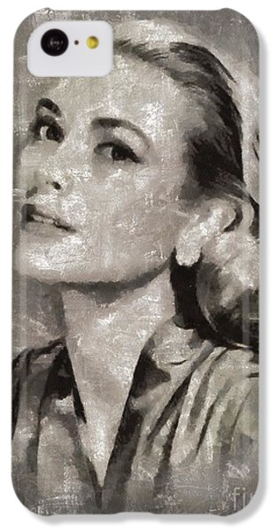 Grace Kelly iPhone 5c Case - Grace Kelly By Mary Bassett by Mary Bassett