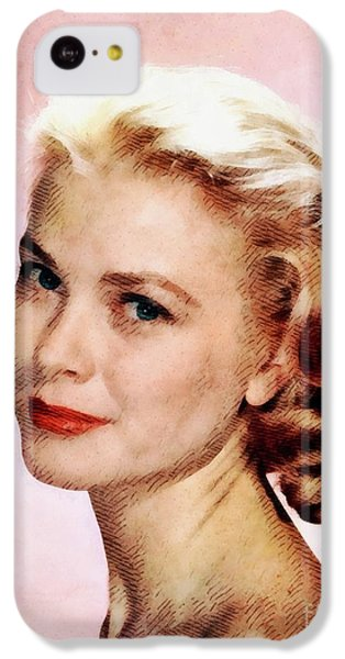 Grace Kelly iPhone 5c Case - Grace Kelly, Vintage Actress by John Springfield