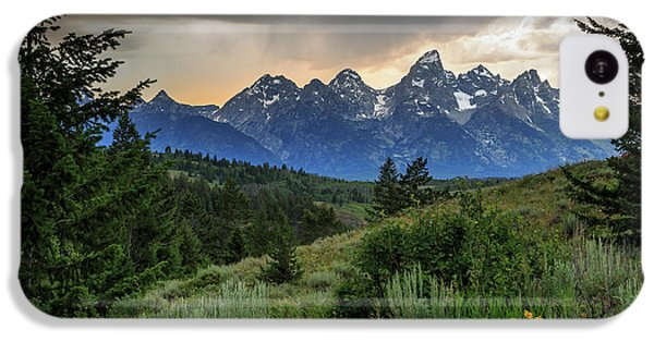 Grand Stormy Sunset IPhone 5c Case by David Chandler
