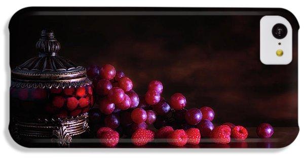 Grape Raspberry IPhone 5c Case by Tom Mc Nemar