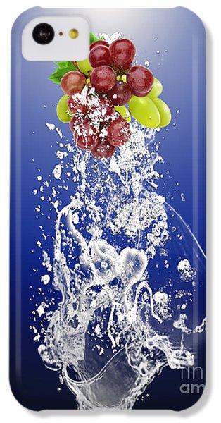 Grape Splash IPhone 5c Case