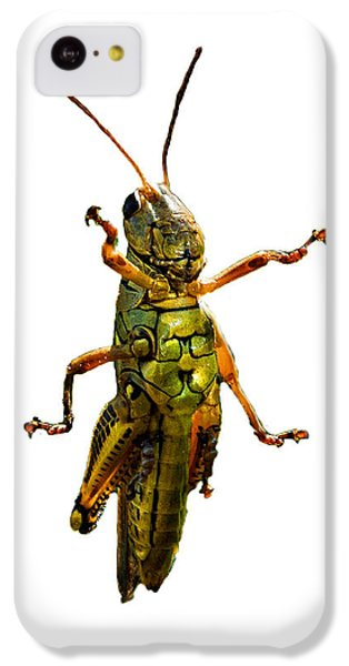 Grasshopper iPhone 5c Case - Grasshopper II by Gary Adkins