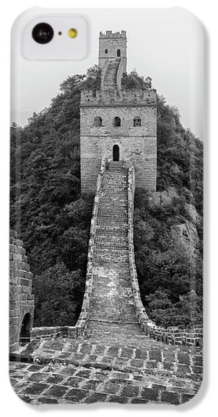 IPhone 5c Case featuring the photograph Great Wall 1, Jinshanling, 2016 by Hitendra SINKAR