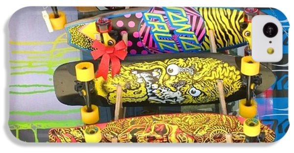 Great Art On These Skateboards! IPhone 5c Case by Shari Warren