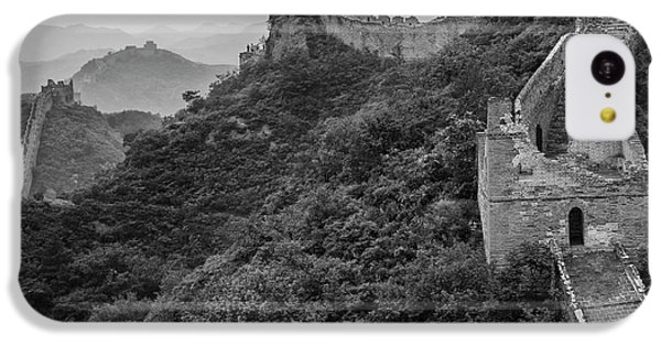 IPhone 5c Case featuring the photograph Great Wall 3, Jinshanling, 2016 by Hitendra SINKAR