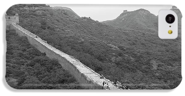 IPhone 5c Case featuring the photograph Great Wall 4, Jinshanling, 2016 by Hitendra SINKAR