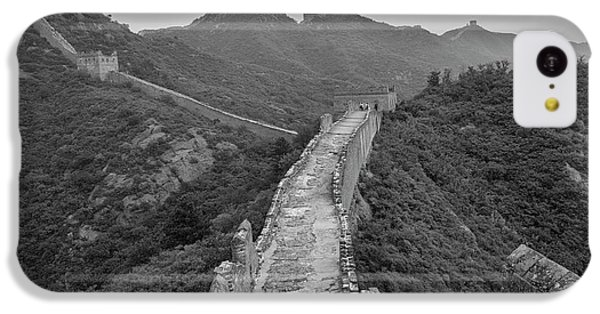 IPhone 5c Case featuring the photograph Great Wall 6, Jinshanling, 2016 by Hitendra SINKAR