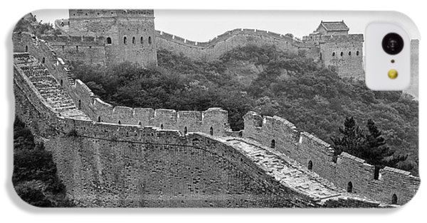 IPhone 5c Case featuring the photograph Great Wall 8, Jinshanling, 2016 by Hitendra SINKAR