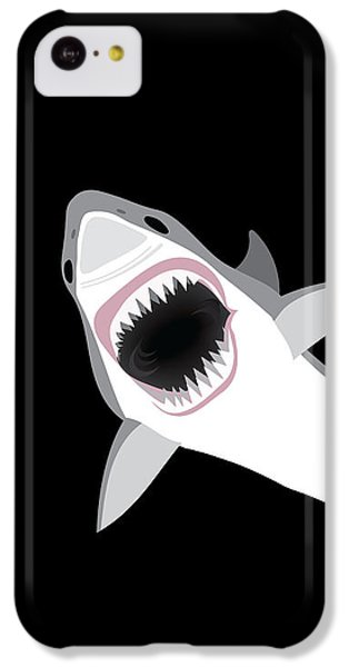 Great White Shark IPhone 5c Case by Antique Images