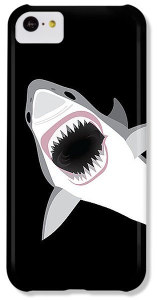 Sharks iPhone 5c Case - Great White Shark by Antique Images