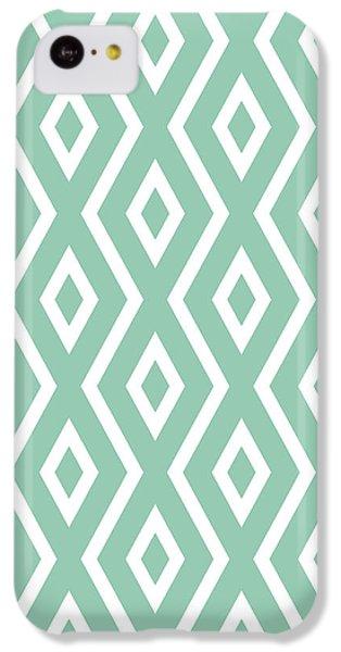 Green Pattern IPhone 5c Case