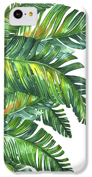 Green Tropic  IPhone 5c Case by Mark Ashkenazi