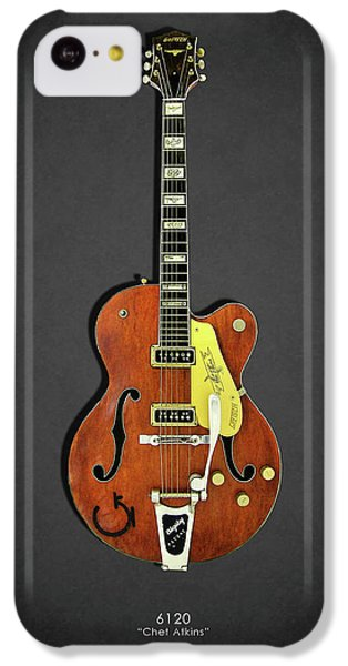 Guitar iPhone 5c Case - Gretsch 6120 1956 by Mark Rogan