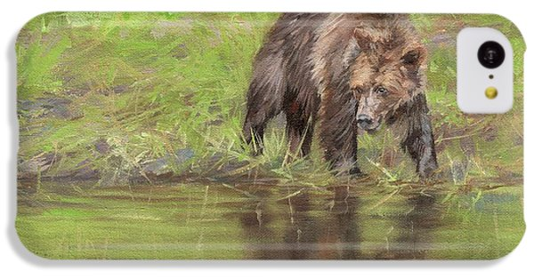 Grizzly Bear At Water's Edge IPhone 5c Case