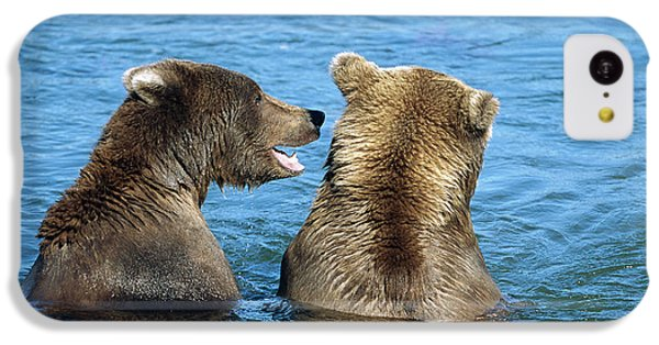 Grizzly Bear Talk IPhone 5c Case