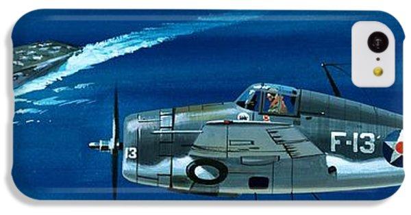 Airplane iPhone 5c Case - Grumman F4rf-3 Wildcat by Wilf Hardy