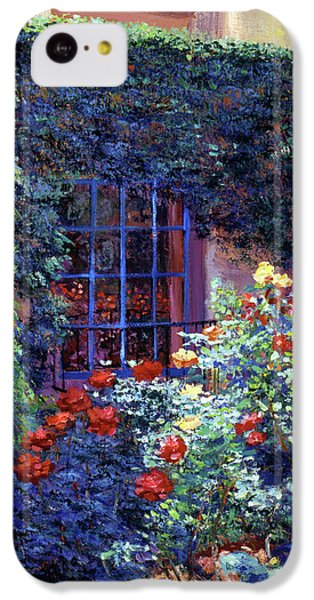 Guesthouse Rose Garden IPhone 5c Case by David Lloyd Glover