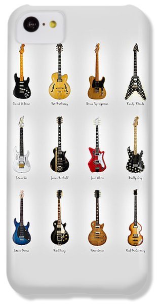 Guitar Icons No2 IPhone 5c Case