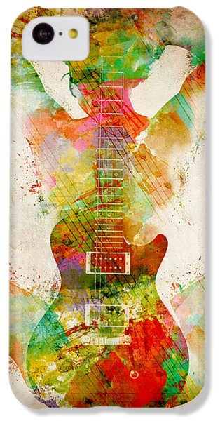 Guitar Siren IPhone 5c Case